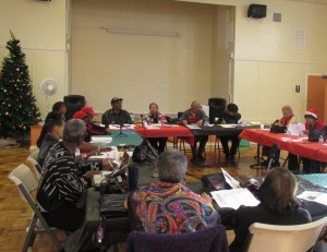 Members of Catholic African-American churches in Los Angeles meet monthly to address crucial community issues.