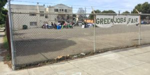 Green Jobs Fair Attracts Diverse Group in West Oakland